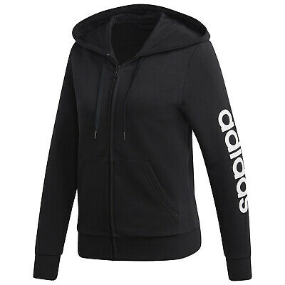 ADIDAS ESSENTIALS LINEAR Kapuzenjacke Damen Sweatjacke