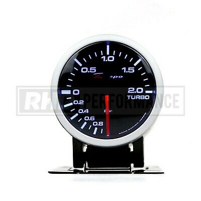 Depo Racing 52Mm Boost Pressure Gauge (Bar) | Turbo Universal Analogue