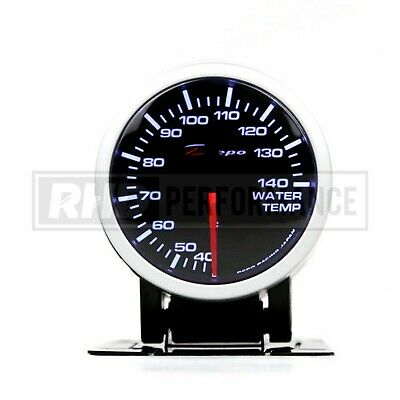 Depo Racing 60Mm Water Temperature Stepper Gauge Illuminated Universal Analogue