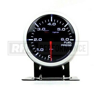Depo Racing 52Mm Fuel Pressure Stepper Gauge | Illuminated Universal Analogue