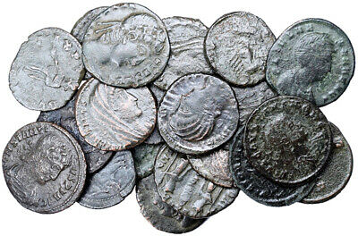 FORVM Lot of 20 Nice (See Photo) Small Late Roman Bronze Coins