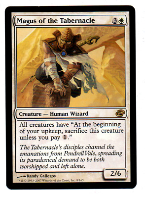 1x Magus of the Tabernacle / Magus des Tabernakels (Planar Chaos) Rare