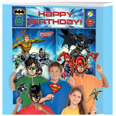 ~ Birthday Party Supplies Decoration 17pc INCREDIBLES 2 SCENE SETTER w// PROPS