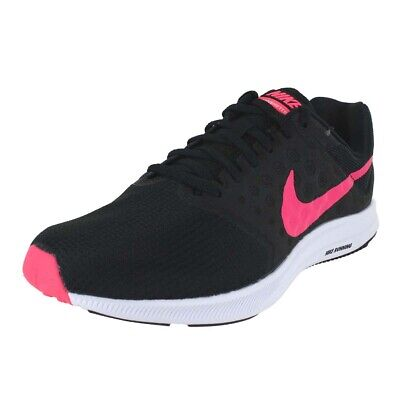 1566368f08850 Nike Wmns Downshifter 7 Black Racer Pink White 852466 008 Womens Us Sizes