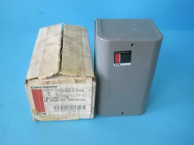 Cutler Hammer 9560Ed344 Metal Enclosure For Ac Magnetic Contactors Upc 78-2113