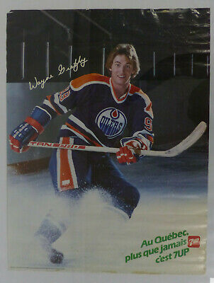 1980 7-Up Posters Lot Of 3 Inc W. Gretzky