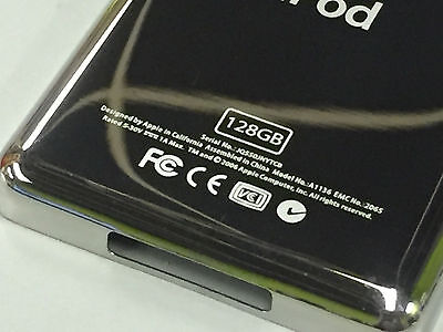 New iPod 5th 5.5 Gen Video 128GB Thin 5mm Back Cover Rear Plate Case Housing