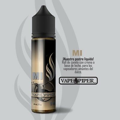"E-liquid Vape Piper ""MI""  50ml - 0mg - BOOSTER + NICOKIT 10ml 20mg  VAPER EJUICE"