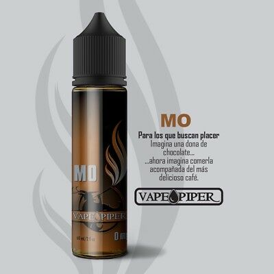 "E-liquid Vape Piper ""MO""  50ml - 0mg - BOOSTER + NICOKIT 10ml 20mg  VAPER EJUICE"