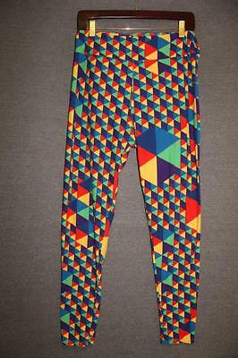 e1a27c3f09a6da LuLaRoe TC Tall & Curvy Leggings MULTI-COLOR Print Soft Stretchy Pants NICE!