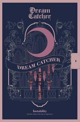 DREAMCATCHER - The End of Nightmare [Instability ver] CD+4Photocards+Poster+Gift