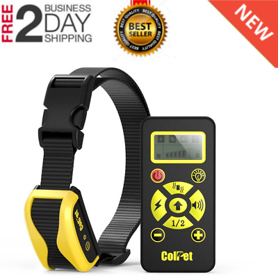 Dog Shock Training E Collar With Remote Coach Electric Trainer Small Durable NEW