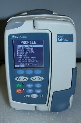 Alaris GP Plus Guardrails Volumetric Infusion IV Pump