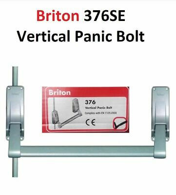 Briton 376 Single Panic Emergency Fire Escape Door Exit Push Bar Bolt Lock NEW