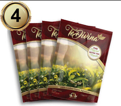 Te Divina-Vida Divina Detox Weight Loss 100% Authentic,TeDivina 4 weeks supply