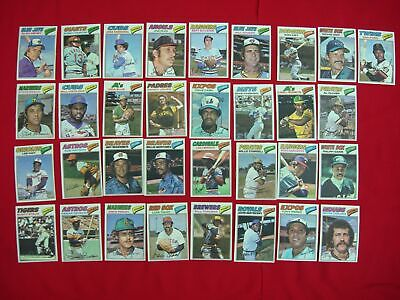 '77 Topps Cloth Stickers~29 Cloth Stickers, 12 Puzzle Pc's, 1 Empty Wax Pack~Wow