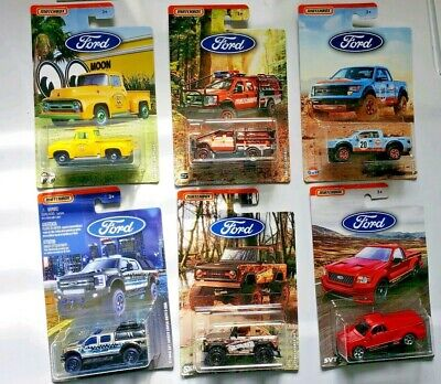 Matchbox 2019 Ford Truck Series Complete Set of 6 FREE SHIPPING