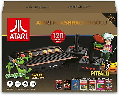 Atari Flashback 9 Gold HD Retro Classic Gaming Console 120 Built-in Games ™