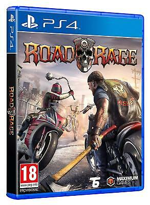 PS4 Game Road Rage New