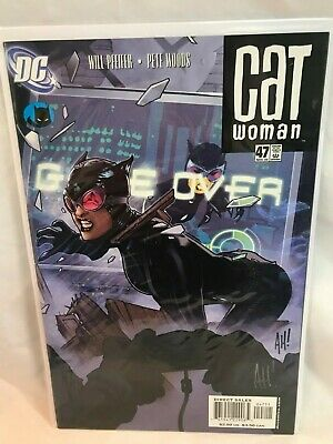 * DC Comics Cat Woman Issue 47 Autographed Signed By Adam Hughes