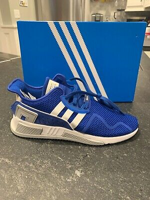 f1d91fbd91f9 Adidas Originals Eqt Cushion Adv Sz 12 Collegiate Royal White Knit Cq2380