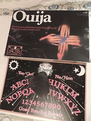 Ouija Board with Planchette Mystical Oracle Talking Board Game Black