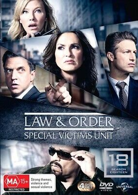Law And Order SVU - Special Victims Unit : Season 18 : NEW DVD