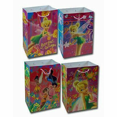 12 Disney Fairies Tinker Bell Small Goody Treat Gift Bags PARTY FAVORS