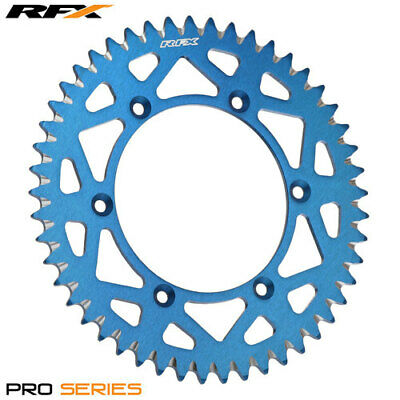 Yamaha YZ 250 2T 1987 RFX Pro Series Elite Rear Sprocket Blue 51T