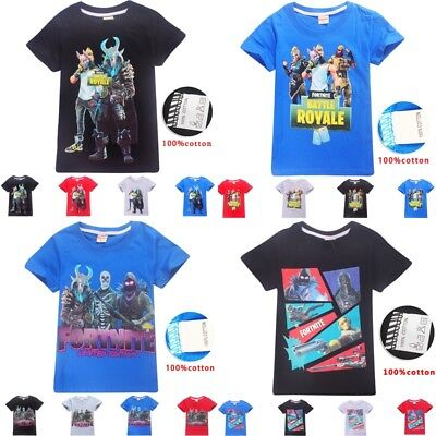 100% Cotton Fashion Kids Battle Royale Boys Girls T Shirt Tops Gamer Tee Gift T-shirts, Tops & Shirts T-shirts & Tops