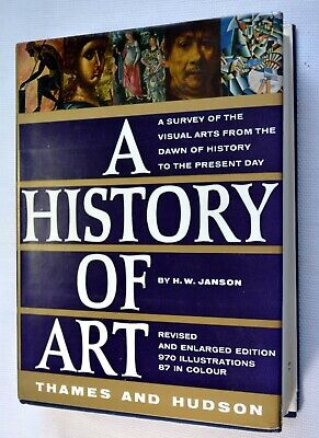 A HISTORY OF ART- By H.W.Janson.