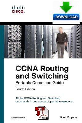 CCNA Routing and Switching Portable Command Guide 4th Ed - fast PDF DOWNLOAD