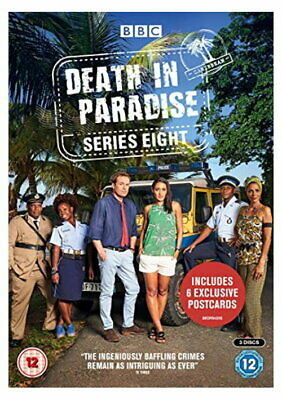 Death In Paradise Series 8 [DVD] [2019] [New DVD]