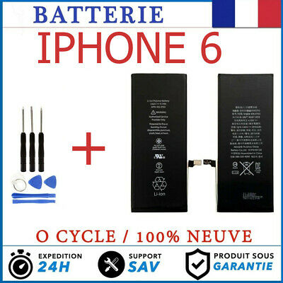 Batterie iPhone 6 Neuve 0 Cycle + kit Outil