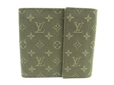 Portefeuille Louis Vuitton Toile Monogram Mini Lin M92440 Monnaie Wallet  450€ e63dba1d67d