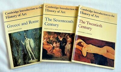 Cambridge Introduction to the History of Art. 3 books: