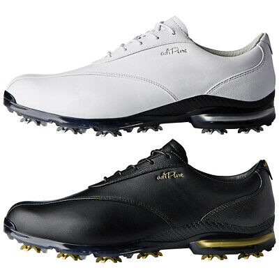 designer fashion 0dcab 0a8b9 Adidas Golf Mens Adipure TP Climaproof Leather Spiked 2.0 Golf Shoes