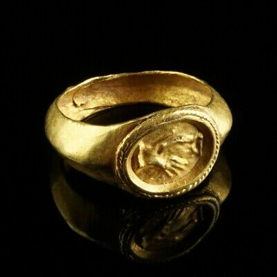 Roman Gold Marriage  Ring 2nd-3rd century AD