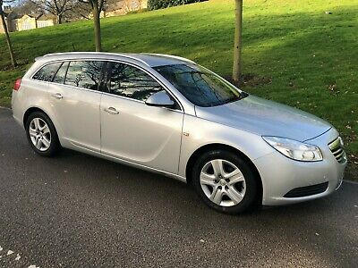 2010 VAUXHALL INSIGNIA 2.0 CDTi S **AUTOMATIC** DIESEL ESTATE - SILVER