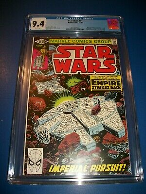 Star Wars #41 Bronze age Empire Strikes Back CGC 9.4 NM Gem Wow