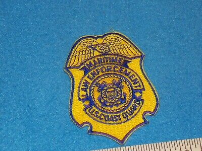 Obsolete US Coast Guard USCG Maritime Law enforcement patch 3-1/4X2-3/8