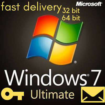 🔥 windows 7 ultimate win 32 64 bit New activation license product key sp1 🔥