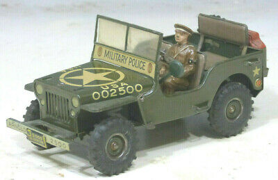 Arnold Jeep 2500 Military Police 1949 mit Fahrer