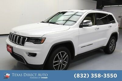 2017 Jeep Grand Cherokee Limited Texas Direct Auto 2017 Limited Used 3.6L V6 24V Automatic RWD SUV Premium