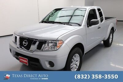 2018 Nissan Frontier SV Texas Direct Auto 2018 SV Used 2.5L I4 16V Manual RWD Pickup Truck