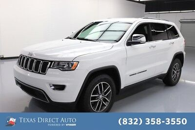 2017 Jeep Grand Cherokee Limited Texas Direct Auto 2017 Limited Used 3.6L V6 24V Automatic RWD SUV