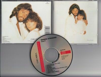 BARBRA STREISAND & BARRY GIBB Guilty CD BEE GEES AUSTRIA COL 86122