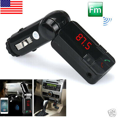 2019Dual USB Wireless Car Kit Charger Stereo MP3Player FM Transmitter Electronic