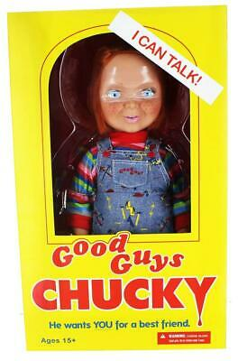 "Mezco Toyz Child's Play Good Guys Chucky 15"" Talking Doll"