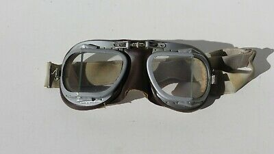 WW2 British Canadian RAF MK.VII Mark 8 Flying Goggles